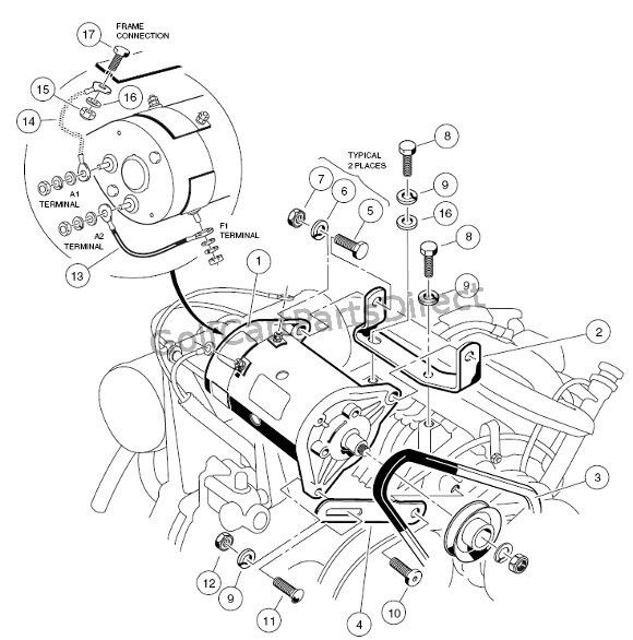 [DIAGRAM] 1995 Club Car Parts Diagram FULL Version HD
