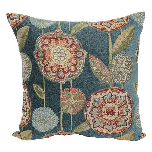 Carmela Throw Pillow Green Living Rooms The O 39 Jays And