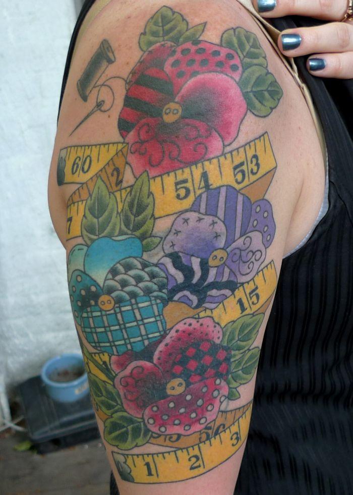 Quilt Tattoo & Patchwork Heart Tattoo Firefly Tattoo | Tattoo ... : quilt tattoo - Adamdwight.com