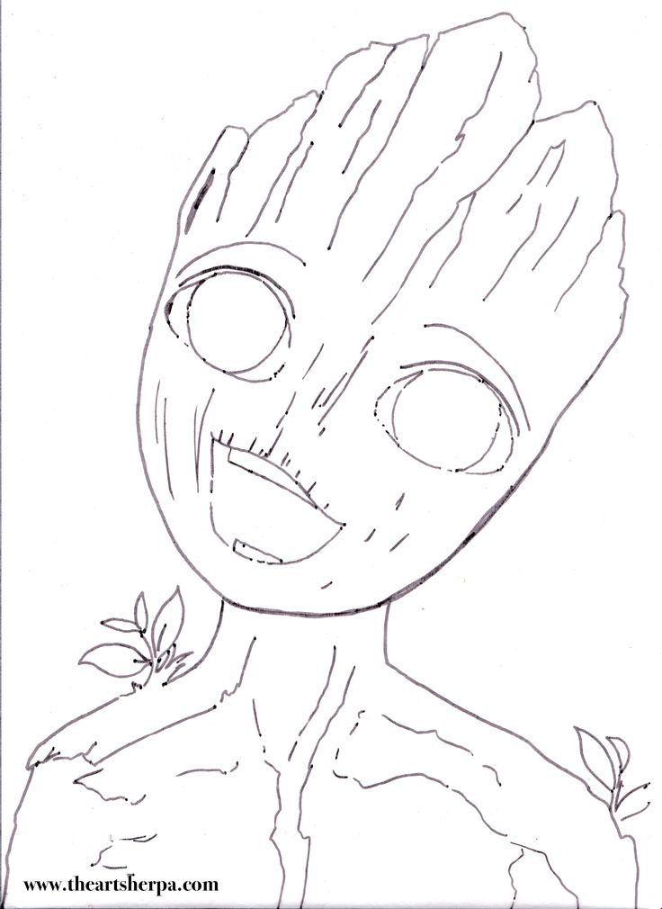 I am Groot BABY for the youtube