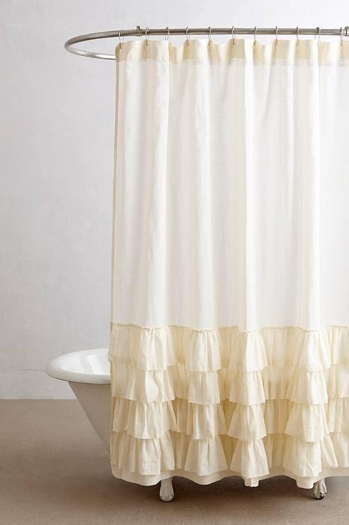 The 25 Best Cream Shower Curtains Ideas On Pinterest
