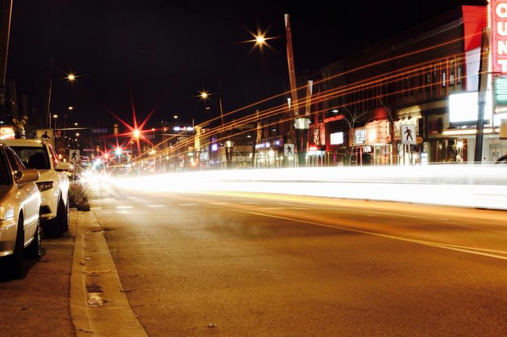 Downtown Kelowna #photography #longexposure #talissamuncephotography