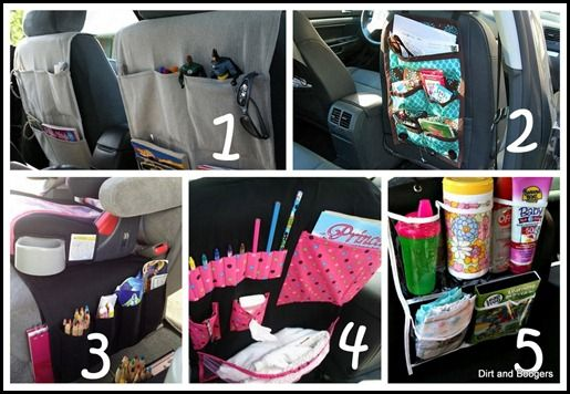 Tips for organizing car