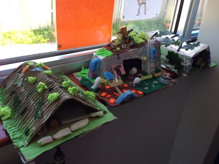 Model WW2 Anderson shelters!