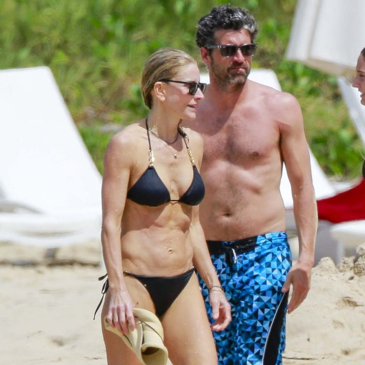 PHOTOS: Patrick Dempsey and Wife Jillian Fink Hit the Beach After Calling Off Their Divorce