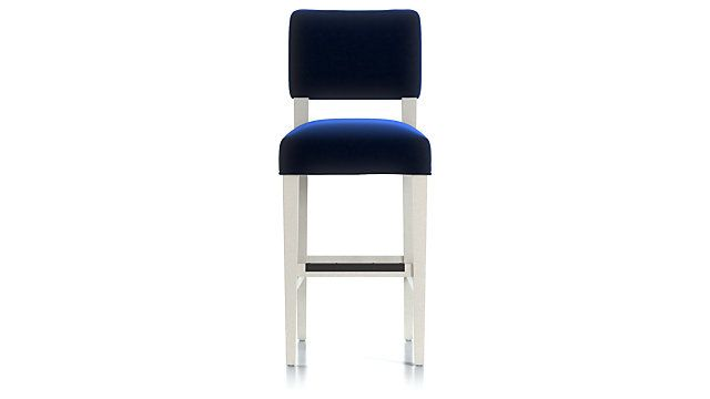 Cody Upholstered Bar Stool Crate And Barrel Upholstered Bar Stools Bar Stools Stool