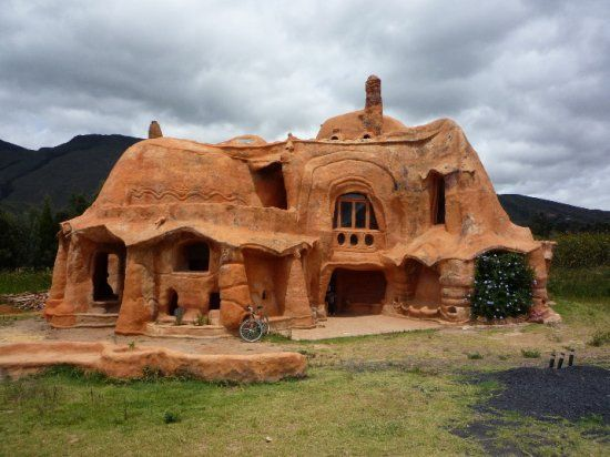 Casa de barro Villa de leyva Boyacá, Colombia