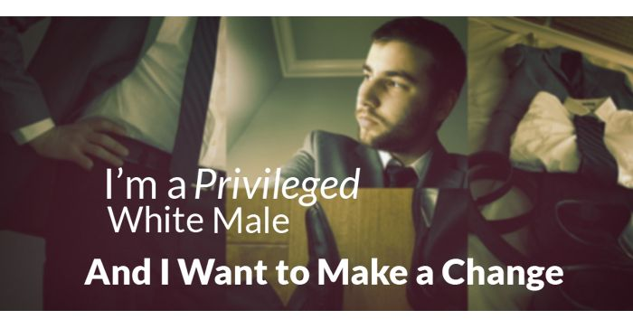 Let's discuss white and male privilege. #Equality #EM #Inequality