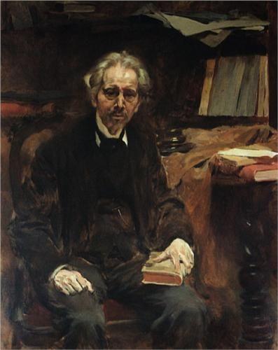 Retrato de Teófilo Braga - Columbano Bordalo Pinheiro