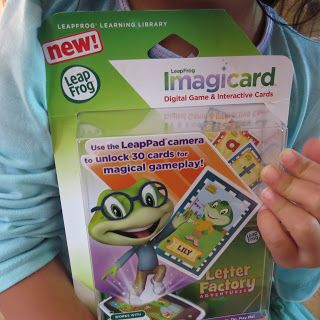 Learn to be a Mom: LeapFrog Imagicard Letter Factory Adventures #Review #Giftguide
