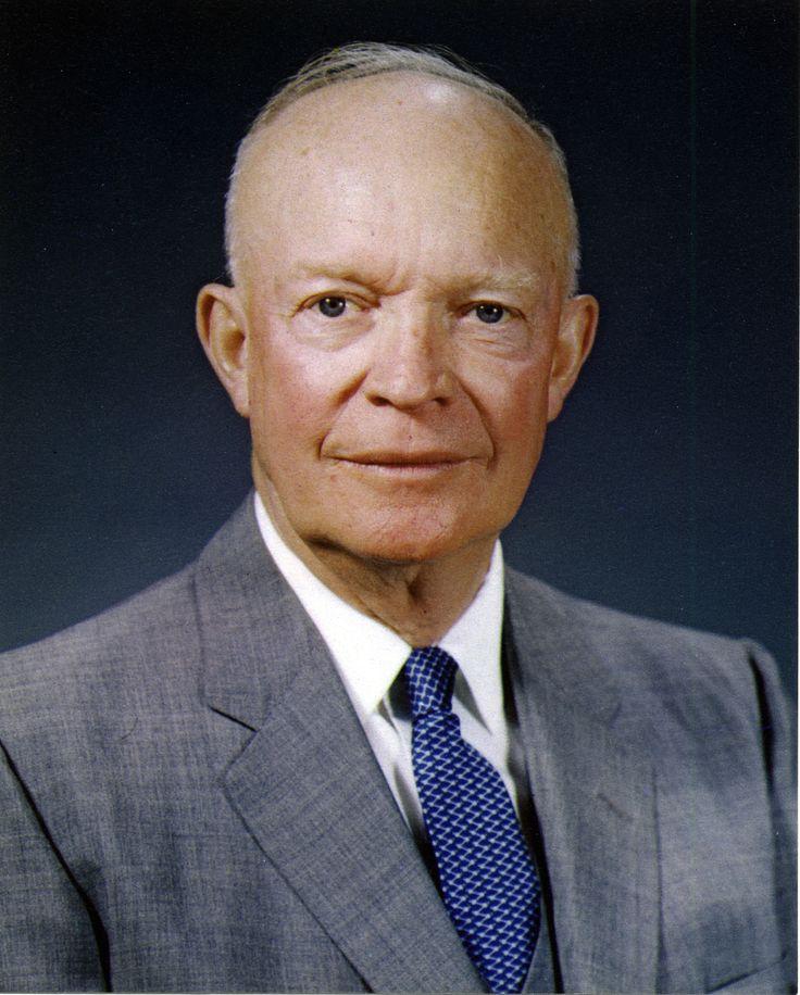 Dwight D. Eisenhower 34th president of the U.S. 1953-61