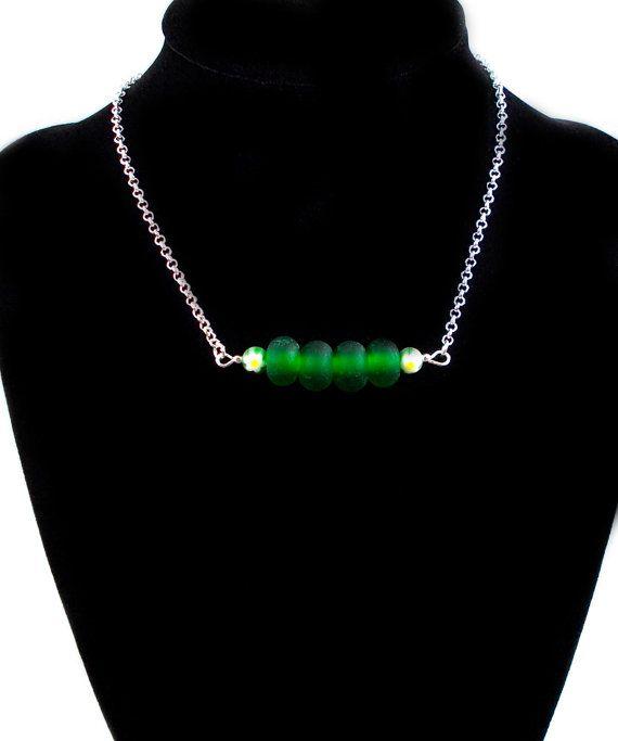 Plus Size Peapod Dark Green Plus Size Jewelry by LuckyLibraDesigns