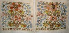EXQUISITE 19th CENTURY TURKISH OTTOMAN GOLD WORK SILK TOWEL/SASH - $8.30