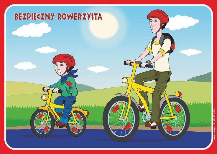 Tak bezpiecznie jeździmy na rowerze
