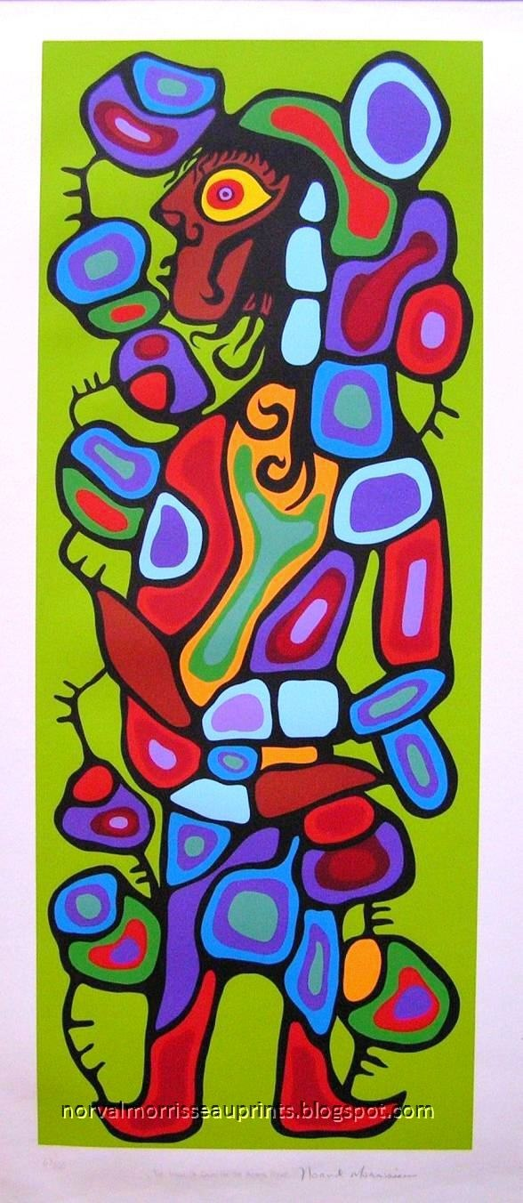 NORVAL MORRISSEAU PRINTS: THE IMAGE OF DAVID ON THE ASTRAL PLANE