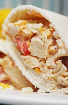 Southwest Chicken Wraps - these wraps are perfect for leftover chicken, my whole family raves over them!
