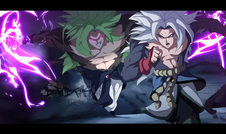 Dragonball ABSALON Goku ss5 vs Broly by dindakai on DeviantArt