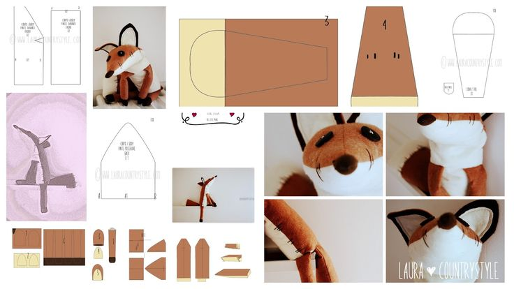 THE little prince fox pattern