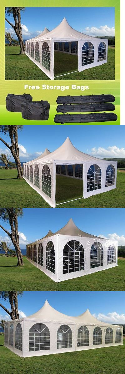 Marquees and Tents 180994: Pagoda Pvc Tent 40 X20 - Heavy Duty Pvc Wedding Party Tent - White -> BUY IT NOW ONLY: $1799.99 on eBay!