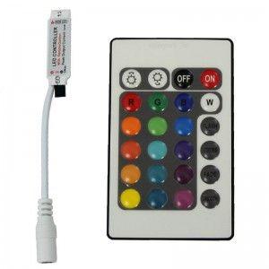 Mini 24&44 key IR Remote Controller For RGB 5050 3528 Led Light Strip