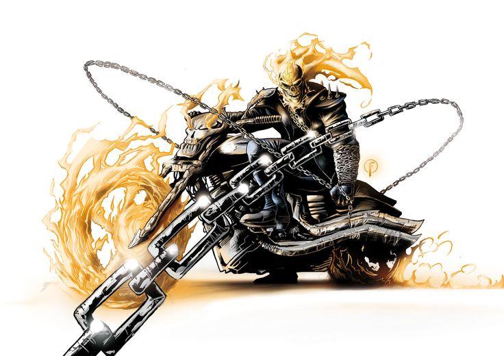 Ghost Rider Color by Riccardo-Fasoli.deviantart.com on @deviantART