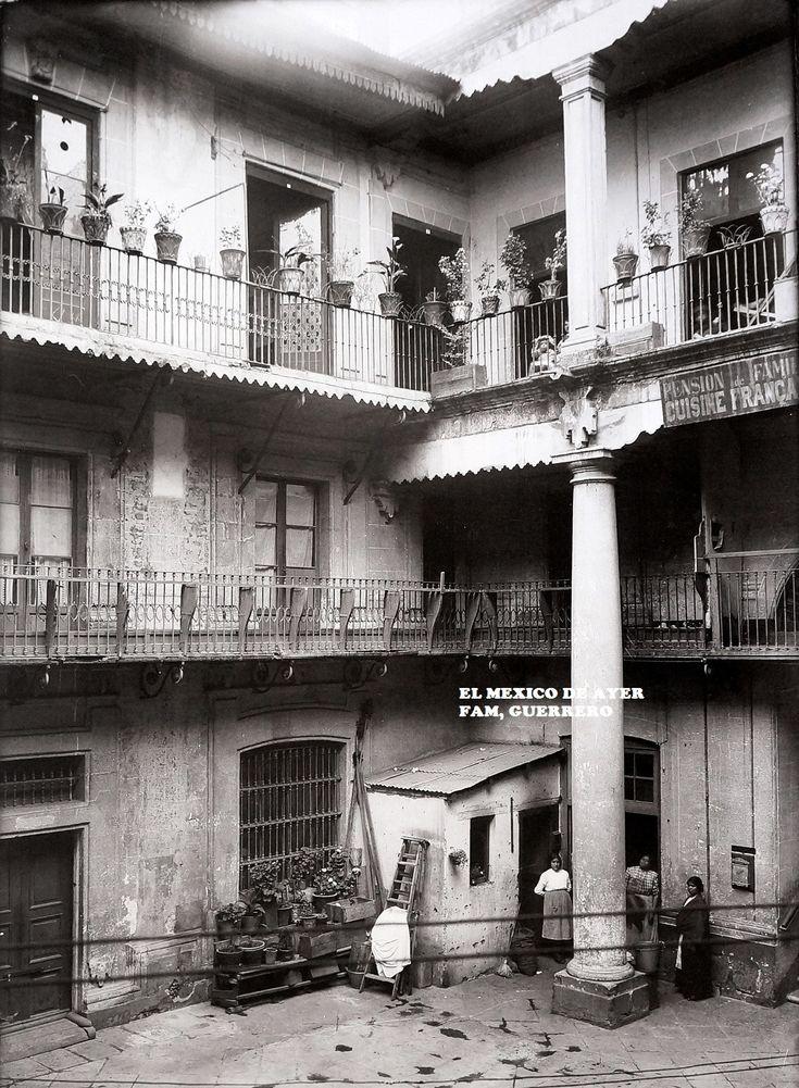 Vecindad en el Centro Histórico 1929