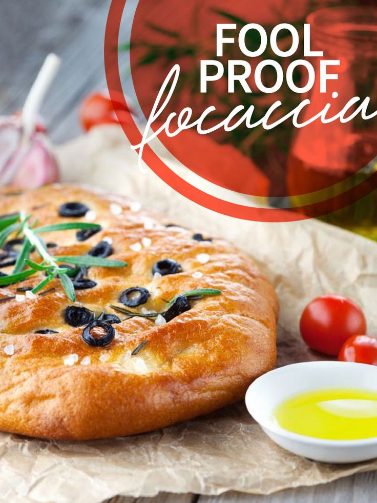 Classic focaccia is rich with olive oil, so try including it at Chanukah meals, celebrating the miracle of oil! Find out how to make this Fool Proof Focaccia here! http://www.joyofkosher.com/recipes/fool-proof-focaccia/