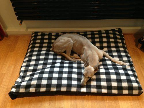 KosiPet Black and White Gingham Check Fleece Extra Large Spare Cover For Dog Bed,Pet Bed >>> Check out this great image  : Pet dog bedding