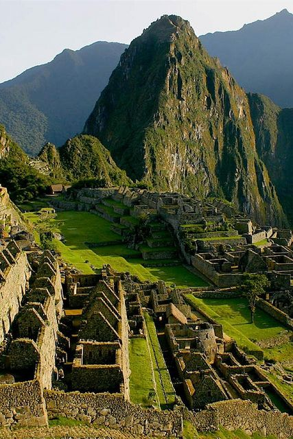 Machu Picchu, Peru..  Don't put off your dreams, you never know how much time you have left.