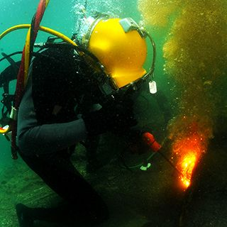 Burn, Baby: The processes and reasons underwater cutting is such a big deal.