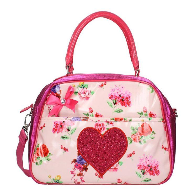 Zebra Trends Romantic Luxe Kidsbag (pink) - Travelbags.nl