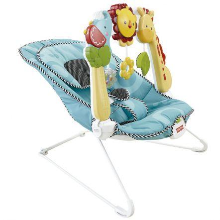 Cadeira de Descanso Fisher Price com Função Musical e Vibratória Desenvolvendo o Bebê 2 em 1