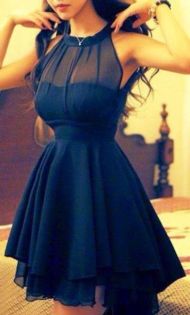 Street style   Little black dress