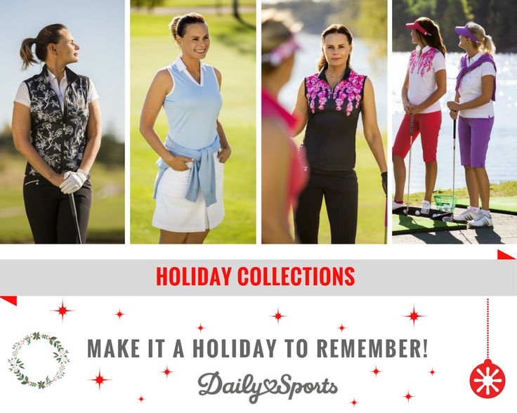 🎉Holiday Collections are here!!🎉 Make it a Holiday to remember by wearing an outfit no one forgets! Click on the photo and shop now!  #tops #bottoms #pants #shorts #polos #poloshirt #sleeveless #longsleeve #skirt #skort #dresses #accessories #sweater #windvest #tanktop #jacket #tights #thanksgiving #blackfriday #holiday #collection #womensfashion #sportsfashion