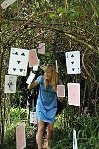 Esprit Alice au pays des merveilles!