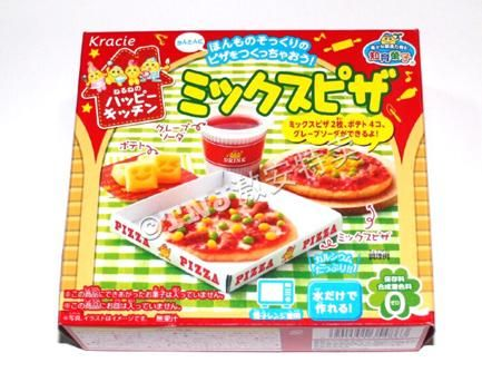 Japanese Candy Popin Cookin Pizza.Kracie Pizza Kitchen Cookin Happy Japanese confectioner Kit ramen.Free Shiping