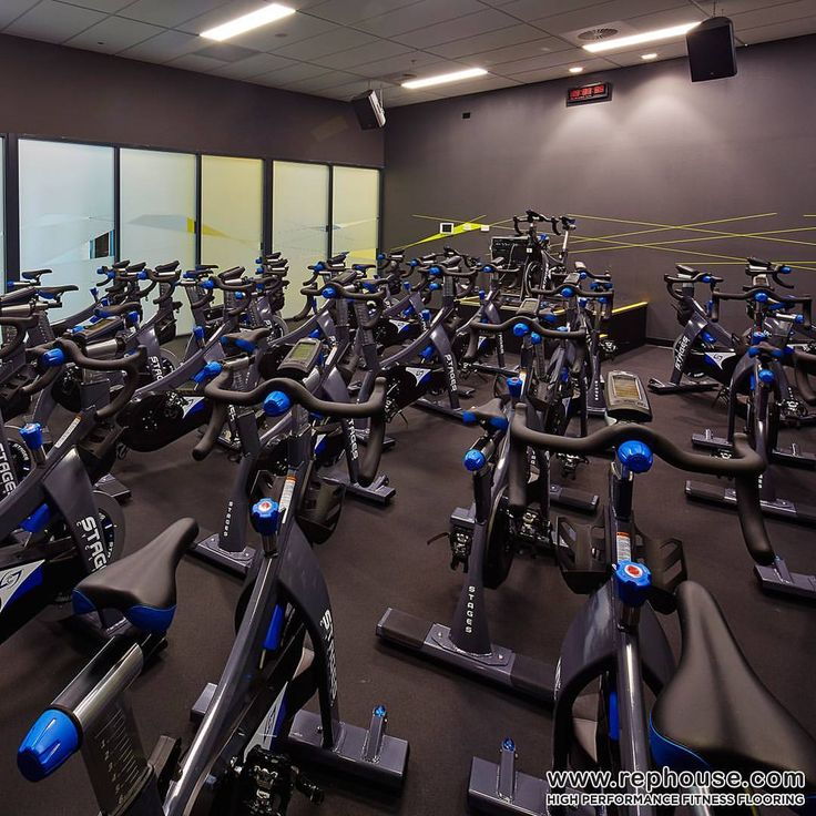 Neoflex 500 Series In The Spinning Studio Of Surge Fitness Kings Square In Perth Western Australia Gym Flooring Rubber Gym Flooring Floor Workouts