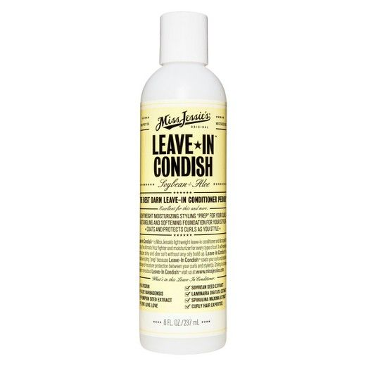 """Miss Jessie's highly anticipated leave in conditionerLEAVE-IN CONDISH™is here.Leave-In Condish™ is Miss Jessie's lightweight leave-in conditioner and detangler that acts as the ultimate frizz fighter and moisturizer for every type of curl. But Leave-In Condish™ does more! Leave-In Condish™ is also an essential styling """"prep"""" that coats your curls and locks in an extra layer of moisture ..."""