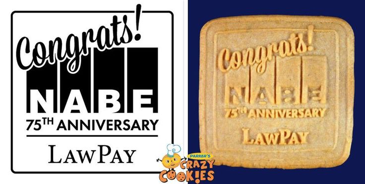 Company logos are unforgettable when made into custom cookies by Parker's Crazy Cookies. They taste great and are beautifully designed!