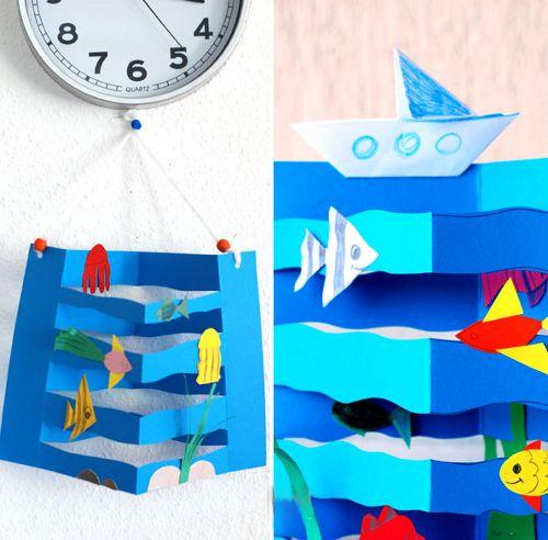 поделка море с детьми - Поиск в Google