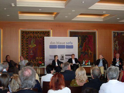 Peter Schneider, Norbert Lammert,  Elisabeth Schwarz, Mit Jürgen Flimm + Hans Neuenfels