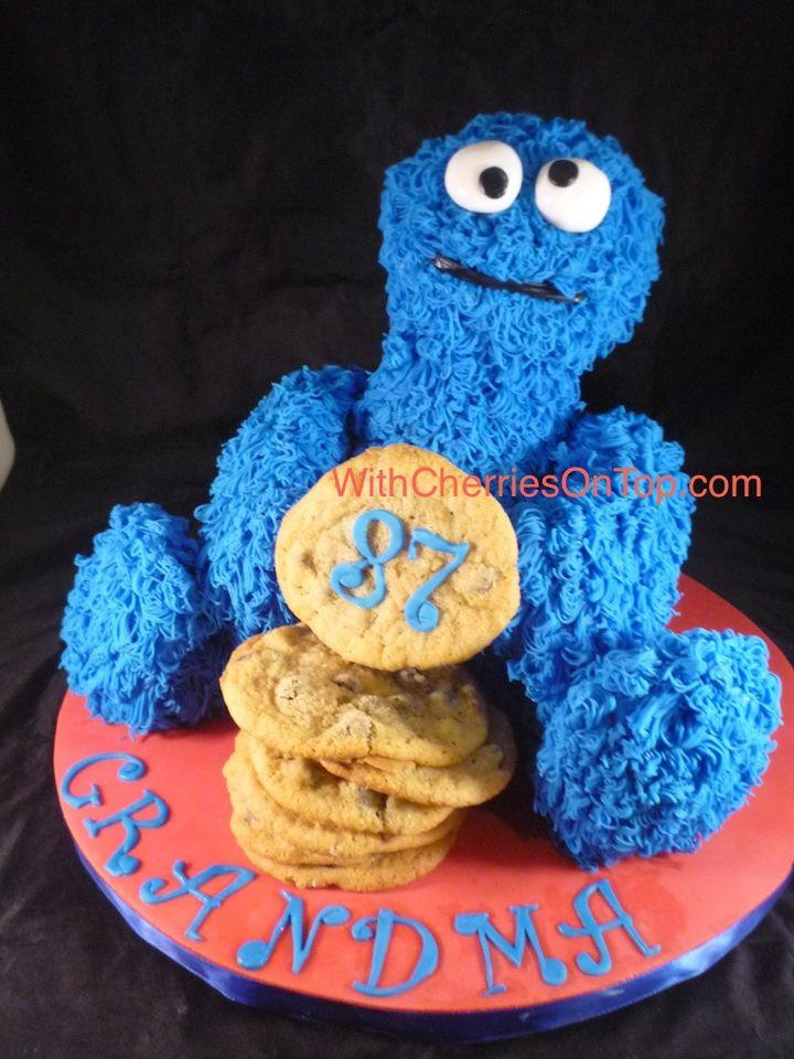Cookie Monster Head Cake Pan