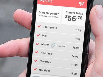 Mobile List App Flat Design