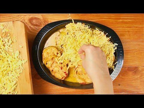 Piept de pui cu legume la cuptor, o rețetă savuroasă - Bucatarul.tv