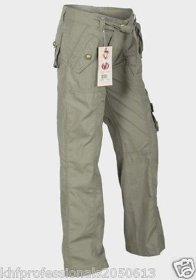 Girls Combat Trousers QualityVoodoo Dolls' Twin front pockets Zip-fly 3 COLOUR