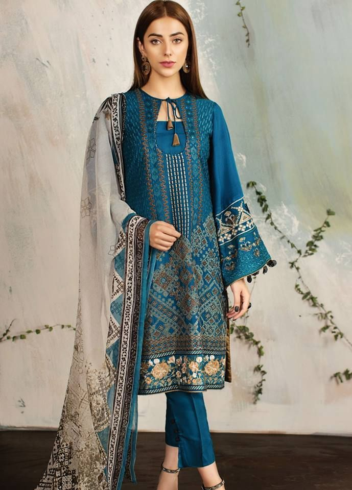 217be623d506 New Silk Winter Collection 2019 BY Famous Pakistani Fashion Brand ...