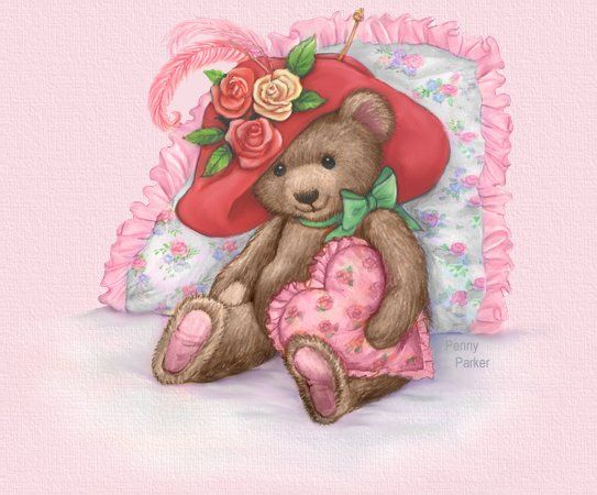 Penny's Place In Cyberspace ~ My Teddy Bear ~ for all my stylin' sistas - love you ladies!