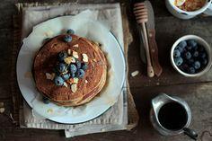 Pancakes au Levain et à la Farine Semi Complète  http://www.maryseetcocotte.com/2016/12/15/pancakes-au-levain-farine-semi-complete/