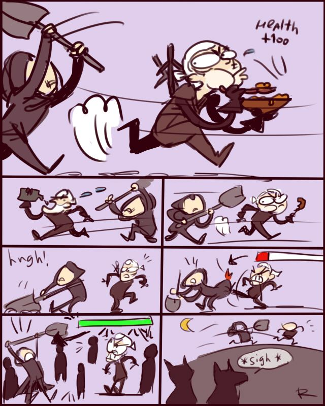 The Witcher 3, doodles 19 by Ayej on DeviantArt