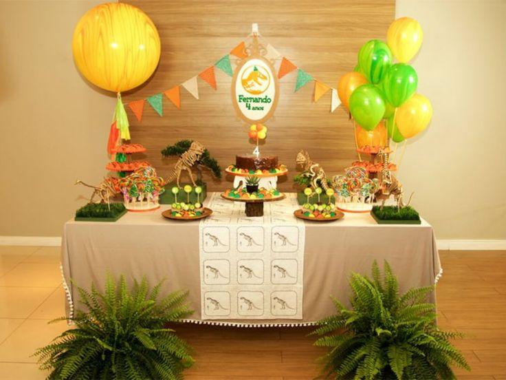 Festa de aniversário com tema dinossauro | Baby & Kids | It Mãe